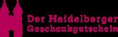 Heidelberger Geschenkgutschein