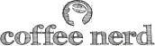 Logo coffee nerd